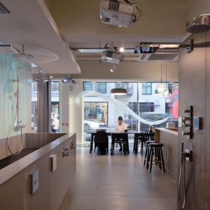 The Water Studio: interaktywny showroom Hansgrohe w Londynie