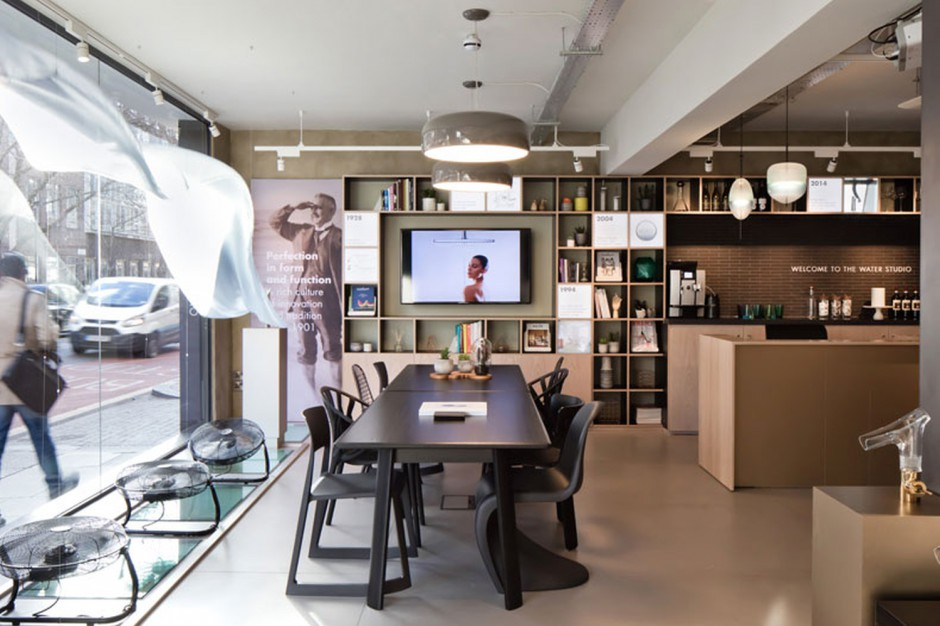 The Water Studio: interaktywny showroom Hansgrohe w Londynie