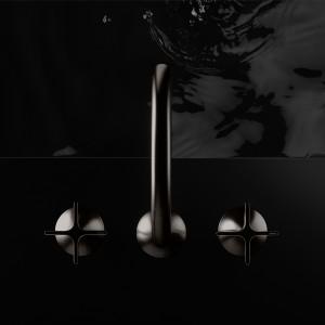 Baterie łazienkowe: nowość w kolorze ciemnej platyny