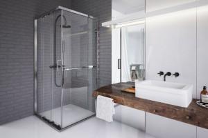 Kabiny prysznicowe: 10 modeli do narożnika