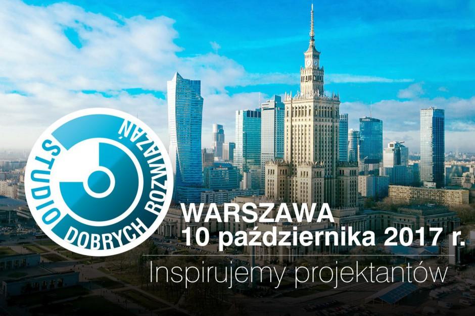 Studio Dobrych rozwiązań odwiedzi Warszawę