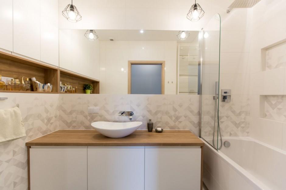 Nowoczesna i przytulna łazienka: gotowy projekt w Kielcach