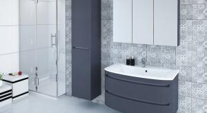 Meble łazienkowe: 10 kolekcji w ciemnych kolorach