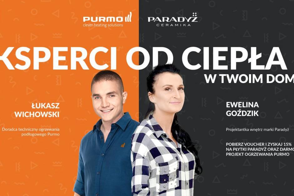 Ceramika Paradyż i Purmo edukują klientów w Internecie