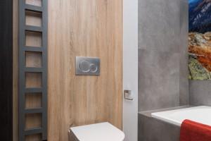 Łazienka z fototapetą: zobacz gotowy projekt