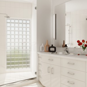 Luksfery w łazience: efektowne i praktyczne