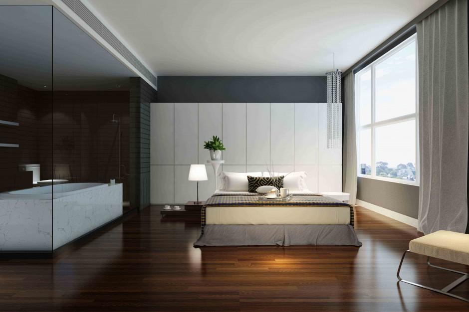 Jak urządzić sypialnię z łazienką? [ekspert radzi]
