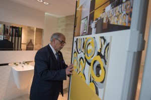 Ambasador Iraku z wizytą w fabryce Grupy Tubądzin