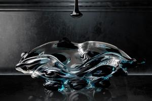 Design w łazience: niezwykłe, ręcznie wytwarzane szklane umywalki