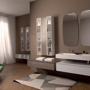 To jest modne: otwarte półki w łazience