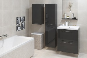 Aranżacja łazienki: odważ się na czerń!