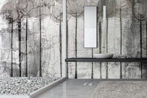 Aranżujemy ściana W łazience Piękne Wodoodporne Tapety