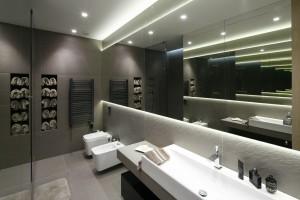 15 projektów nowoczesnych łazienek