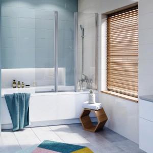 Strefa kąpieli w małej łazience: co zamiast kabiny?