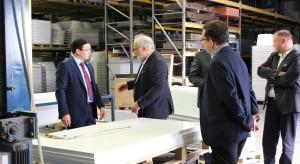 Wizyta Ambasadora Kazachstanu w siedzibie firmy Sanplast