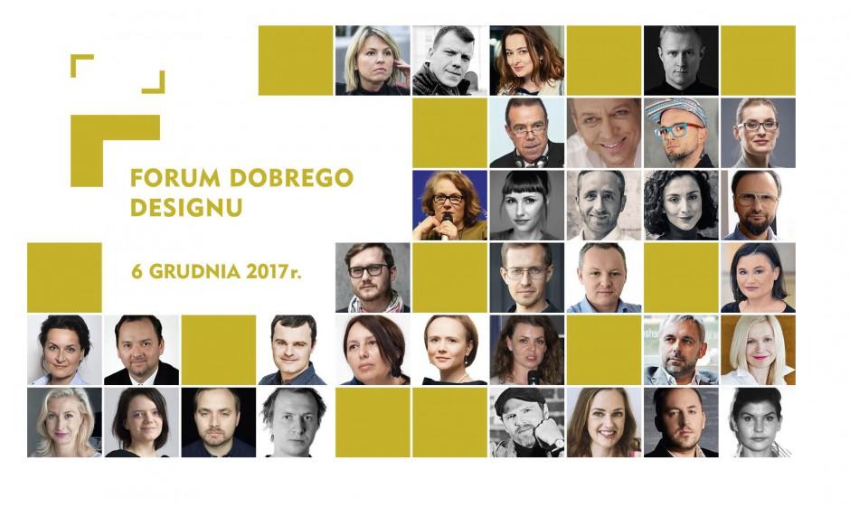 Forum Dobrego Designu 2017: poznaj program i gości imprezy!