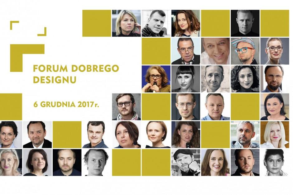 Forum Dobrego Designu 2017: znamy program i gości imprezy!