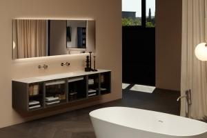 Salon kąpielowy: piękna kolekcja mebli łazienkowych