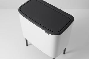 Porządek w łazience: postaw na designerski... kosz na śmieci
