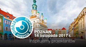 Już jutro Studio Dobrych Rozwiązań zawita do Poznania