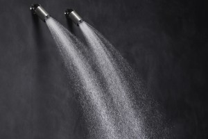 Armatura prysznicowa: bardzo elastyczna deszczownia