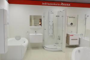 Odświeżona strefa Ravak w warszawskiej galerii Home Concept
