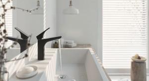 Czarny detal w łazience: 3 modele baterii umywalkowych