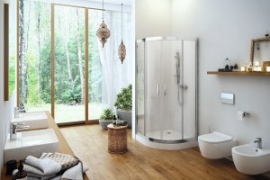 Łazienka zainspirowana naturą: gotowy pomysł na aranżację