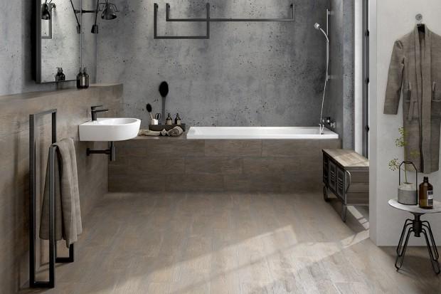 Inspiracje naturą: kolory drewna w łazience