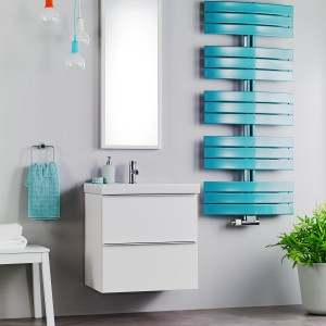 Grzejniki łazienkowe: 14 różnych modeli