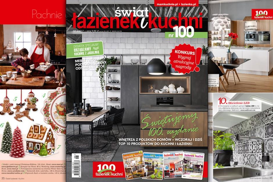 Jubileuszowy, setny numer Świata Łazienek i Kuchni