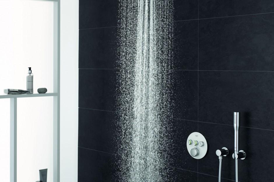 Komfort pod prysznicem: armatura z wygodnym sterowaniem