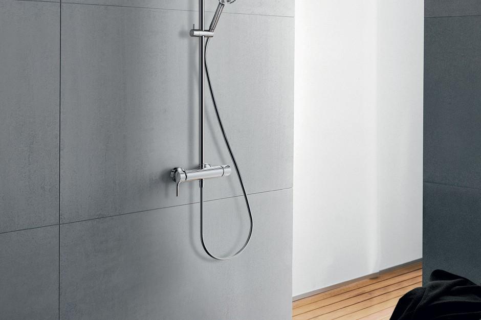 Praktyczna i wygodna łazienka: komfortowa armatura na każdy metraż