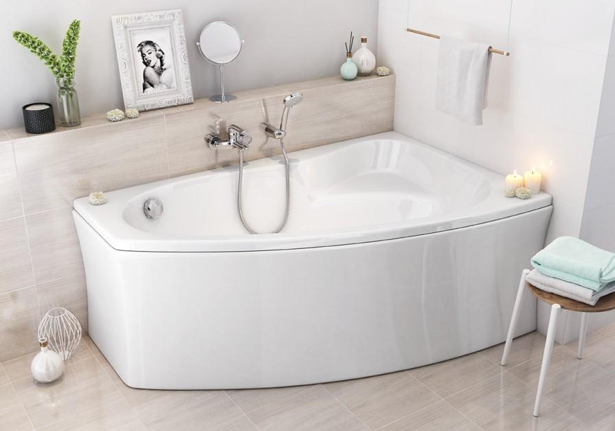 Wanna z prysznicem: urządzamy strefę kąpieli