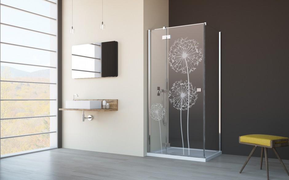 Strefa prysznica - udekoruj ją kabiną z grawerem