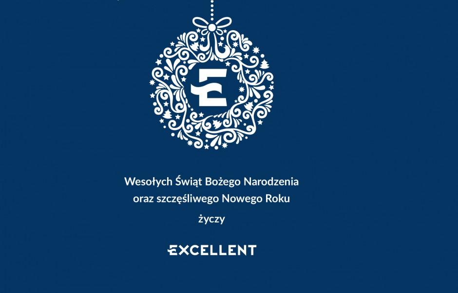 Firma Excellent życzy Wesołych Świąt