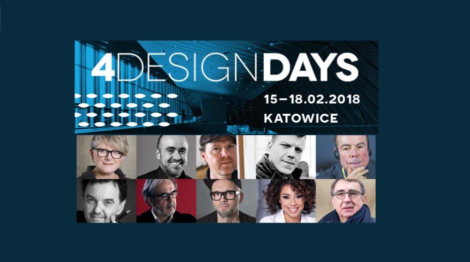 Znakomici goście specjalni 3. edycji 4 Design Days