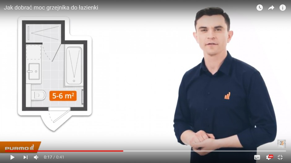 Purmo publikuje poradniki na Youtube