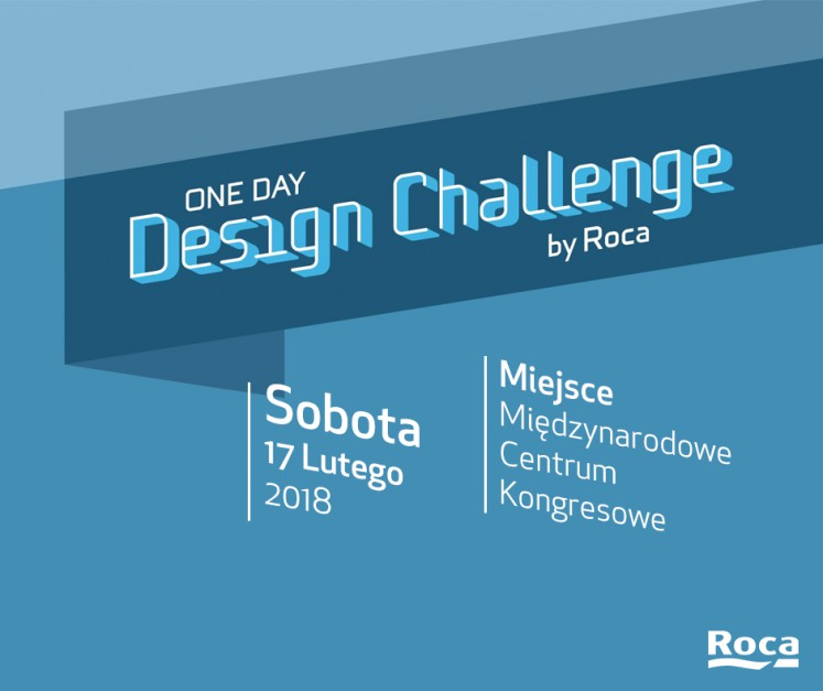 One Day Design Challenge: konkurs Roca po raz pierwszy w Polsce!