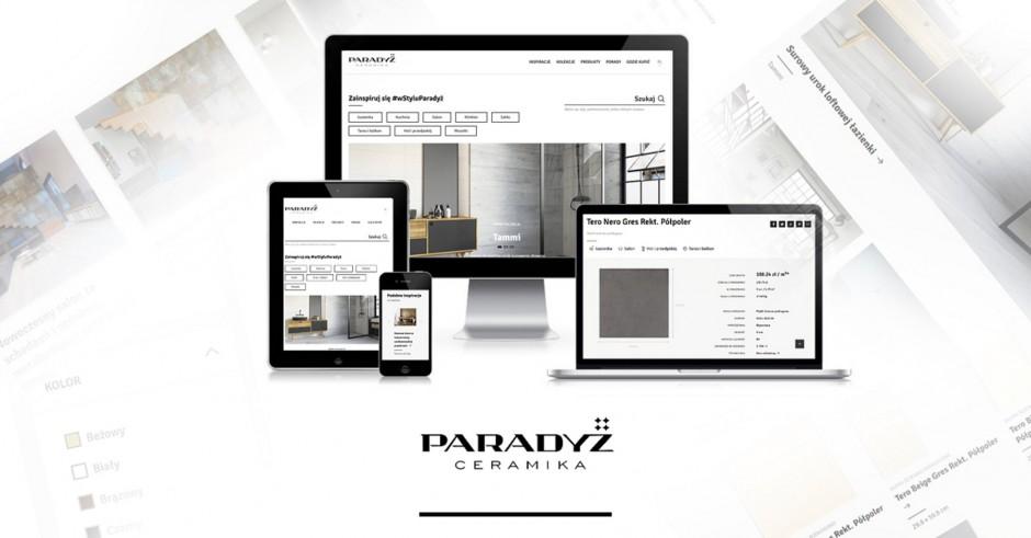 Ceramika Paradyż uruchamia nową stronę internetową