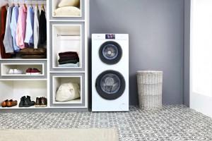 Szybkie i wygodne pranie: nowa pralko-suszarka z dwoma bębnami