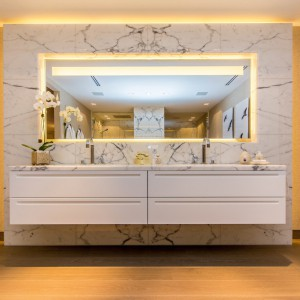 Łazienki Palazzo Del Sol z luksusowym marmurem firmy Margraf