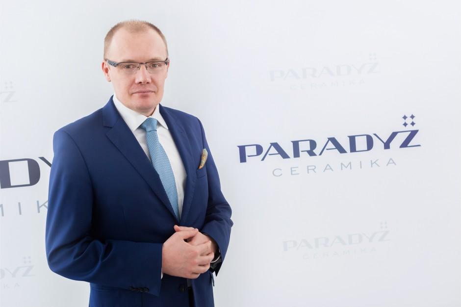 Rok 2017 według Ceramiki Paradyż: rozmowa z Adamem Tępińskim, Współwłaścicielem i Prezesem Zarządu