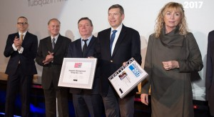 Grupa Tubądzin z wyróżnieniem Budowlanej Firmy Roku