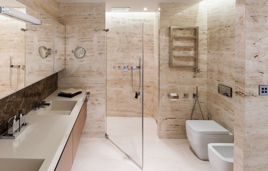 Strefa prysznica bez brodzika: 20 projektów z polskich domów