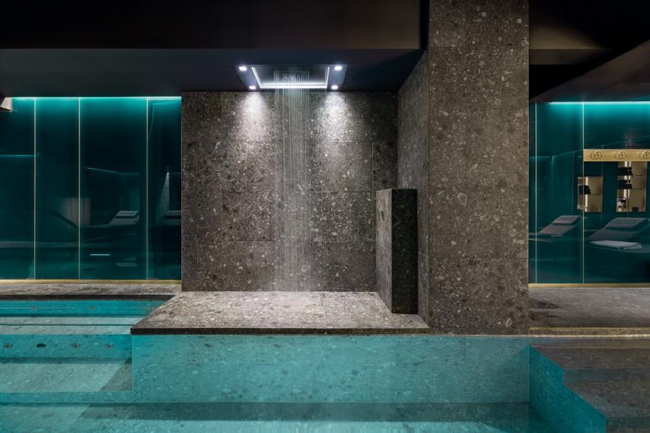 Mediolańskie Gym&Spa z luksusową armaturą Dornbracht