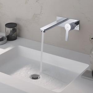 Nowoczesna łazienka: elegancka i minimalistyczna seria baterii