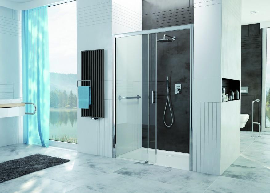 Wygodna strefa prysznica: nowy model kabiny