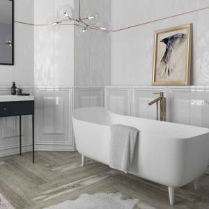 Białe płytki ceramiczne: 12 kolekcji do łazienek