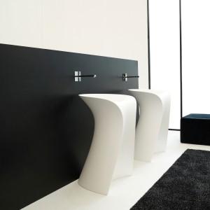 Umywalki podłogowe: 5 pięknych modeli